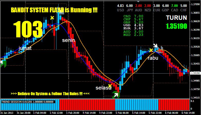 Bandit flash forex indicator system