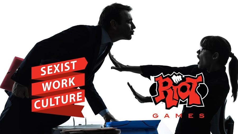 riot games sexism culture