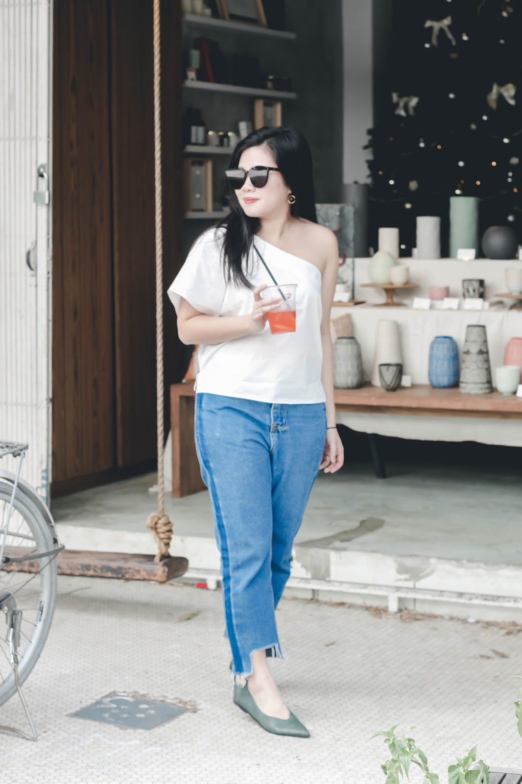 singapore blogger stylist fashion look book street style photography summer denim ootd outfit wear