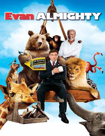 Evan Almighty Full Movie (2007) 325MB 480P BRRip Dual Audio [Hindi-English]