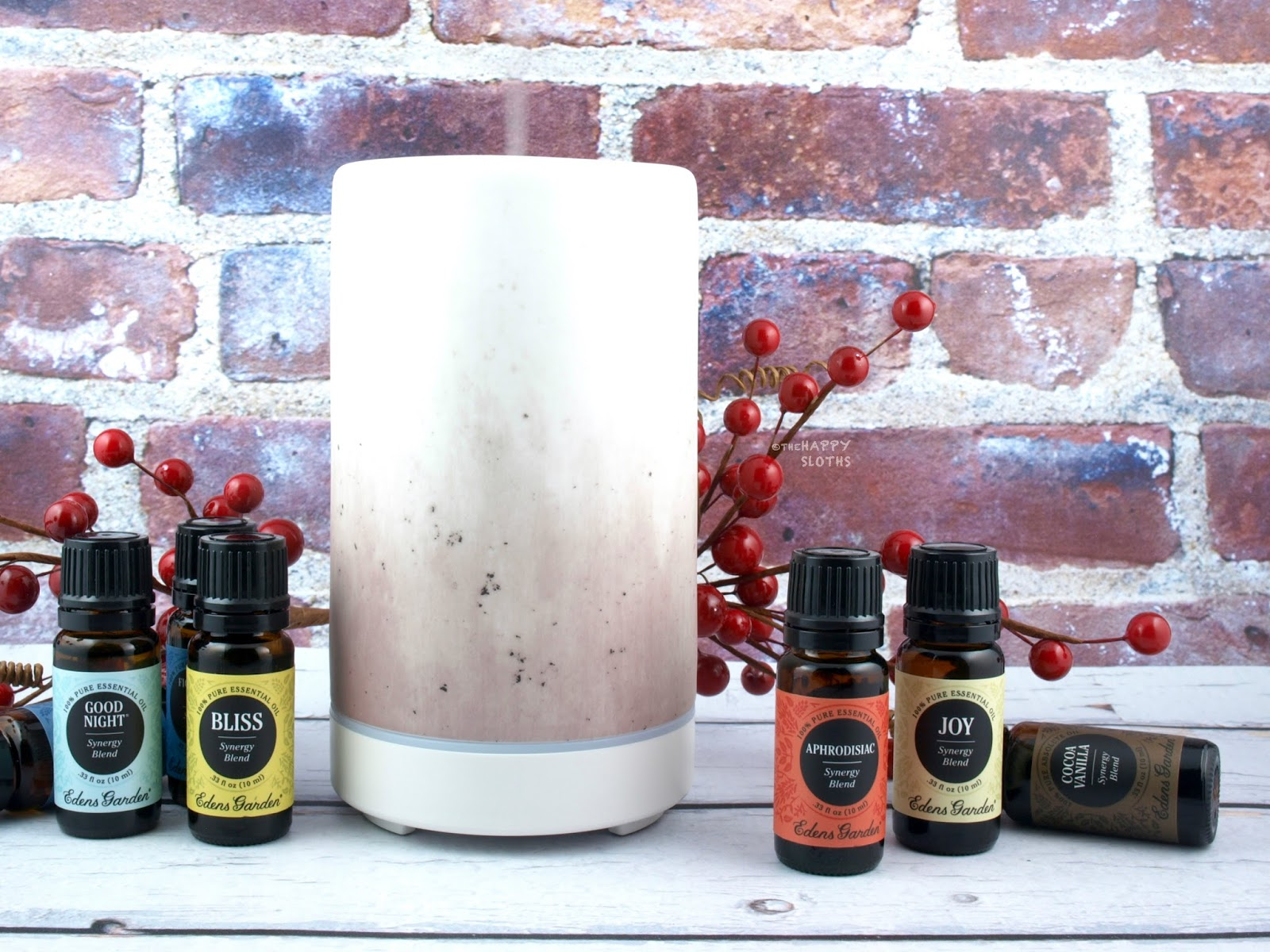 Edens Garden | Ceramic Ultrasonic Diffuser & Synergy Blends: Review