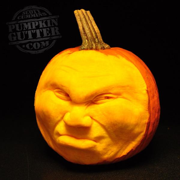 most expressive 3d pumpkin face sculptures ii