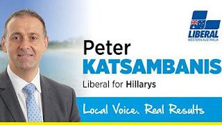 Στην Ηλεία ο Παναγιώτης Κατσαμπάνης, ομογενής γερουσιαστής στο Περθ της Αυστραλίας