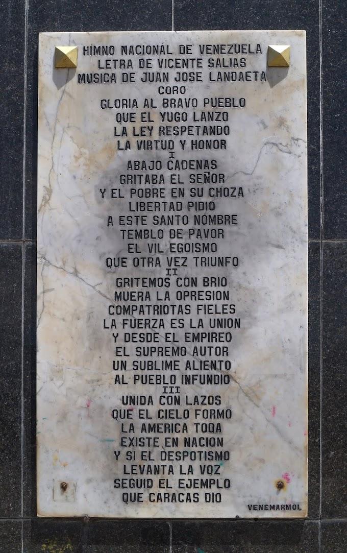 HIMNO COMPLETO DE VENEZUELA
