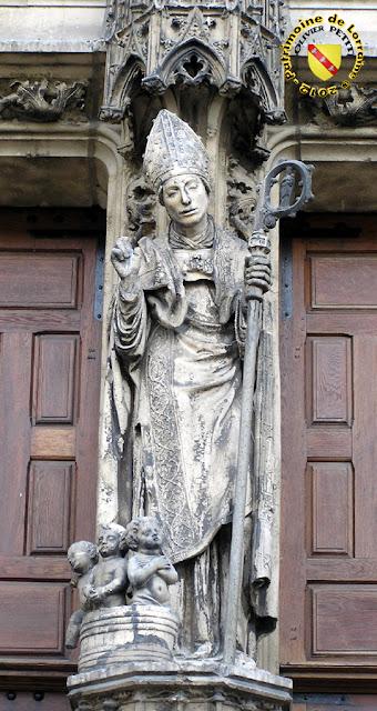 Saint-Nicolas (XVIe siècle) - Statue en pierre - Basilique de Saint-Nicolas de Port (54)