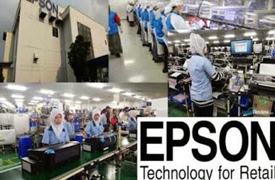 Lowongan Kerja Jobs : Operator Produksi Lulusan Baru Min SMA SMK D3 S1 PT Indonesia Epson Industry Membutuhkan Tenaga Baru Seluruh Indonesia