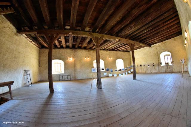 Sala w wieży w Siedlęcinie