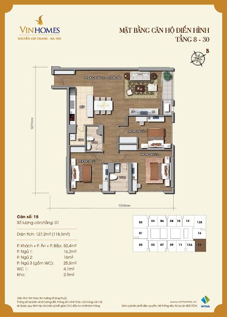 Thiết kế chung cư 54a nguyễn chí thanh