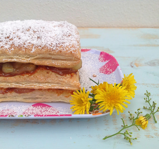 caramelized-banana-puff-pastry