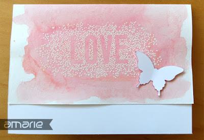 einfach amarie - Hochzeitskarte