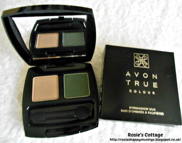 Avon True Colour Eyeshadow Duo - Enchanted Forest Shade
