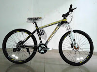 Sepeda Gunung Pacific Spazio 6.0 Aloi 24 Speed Fork Lock Out Cakram Hidrolik 26 Inci