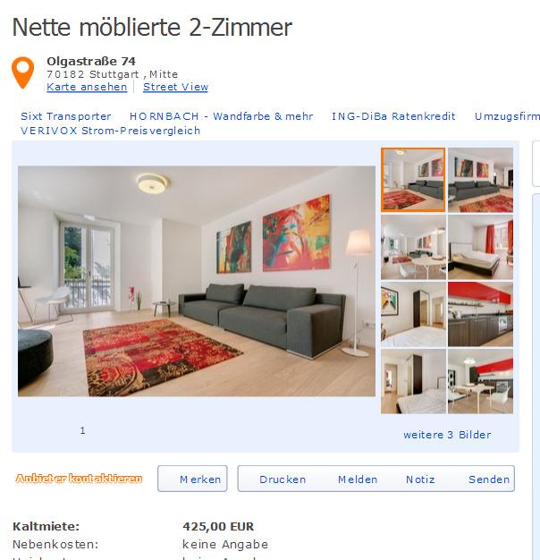 Wohnungsbetrug.blogspot.com: Attraktive Möblierte 2-Zimmer