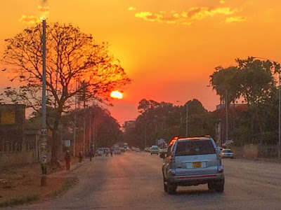 Harare, a capital do Zimbabwe