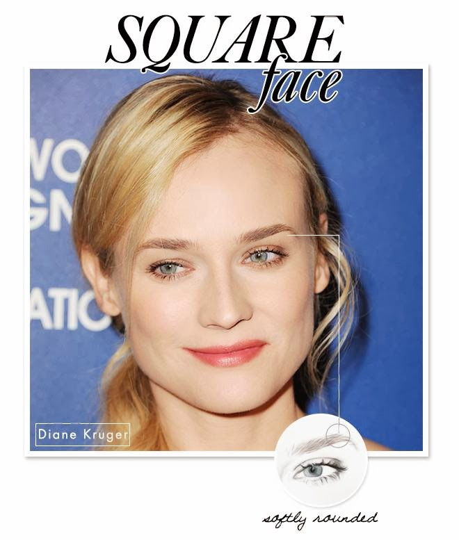 Square Chin: Create Eyebrow Shape With Celebrity Style