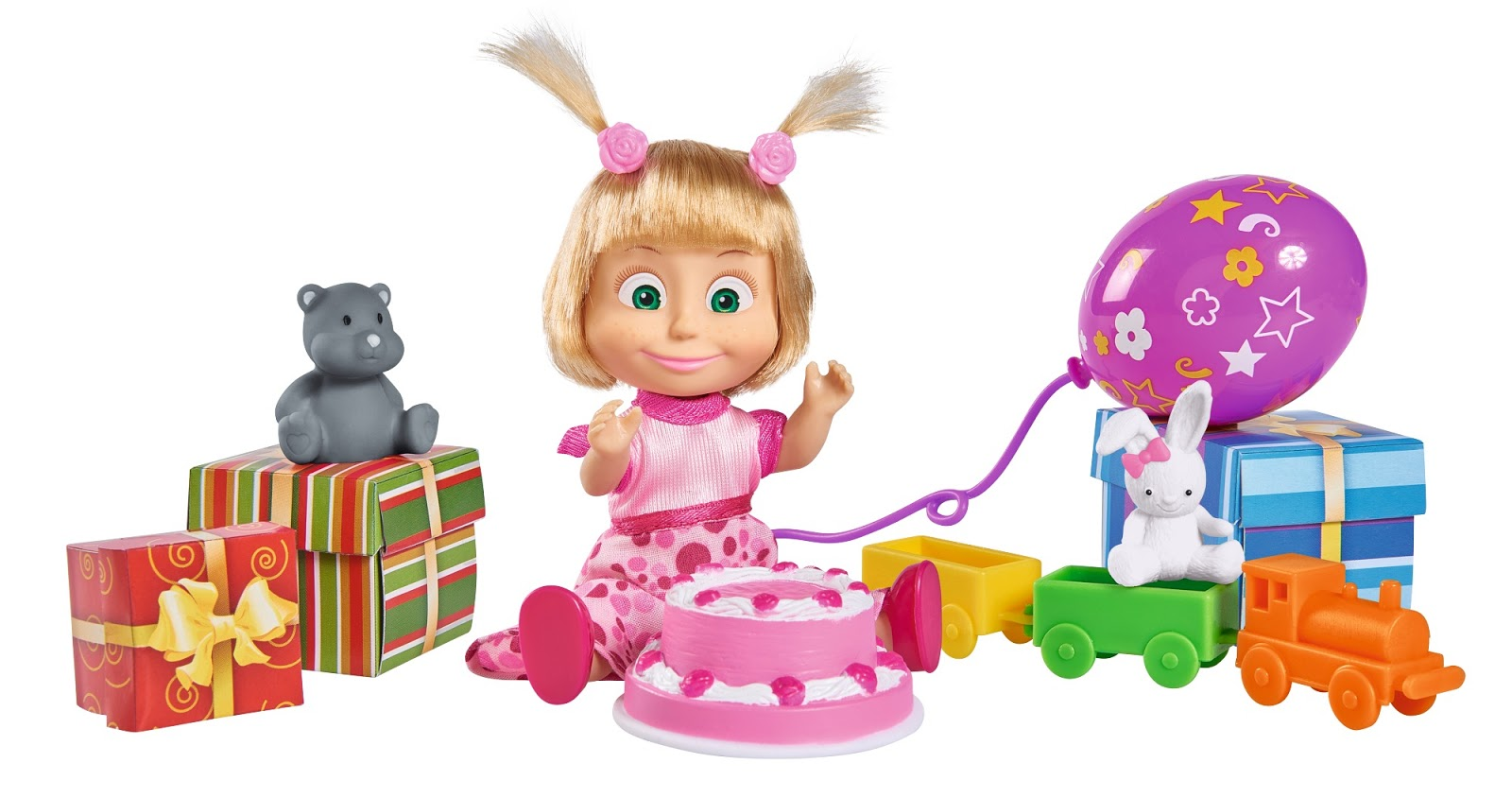 Mummy 39 s space masha and the bear birthday playset for Happy playsets