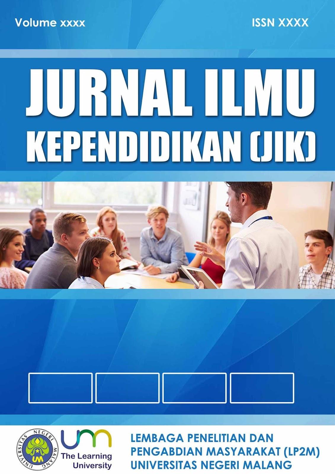 Contoh Desain Cover Jurnal Pendidikan UM