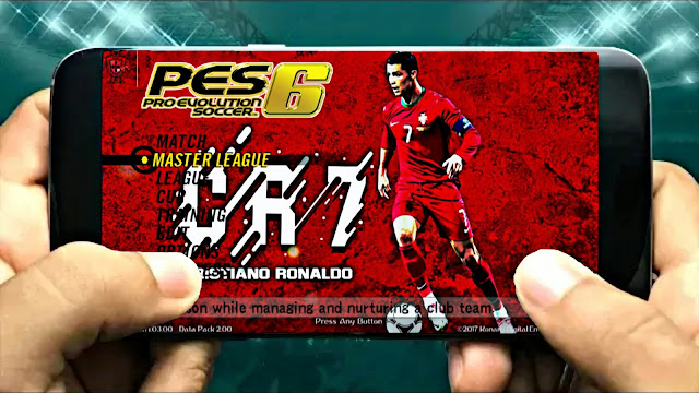 Download PES 6 Patch PES 2018 Android 700 MB Best Graphics Offline