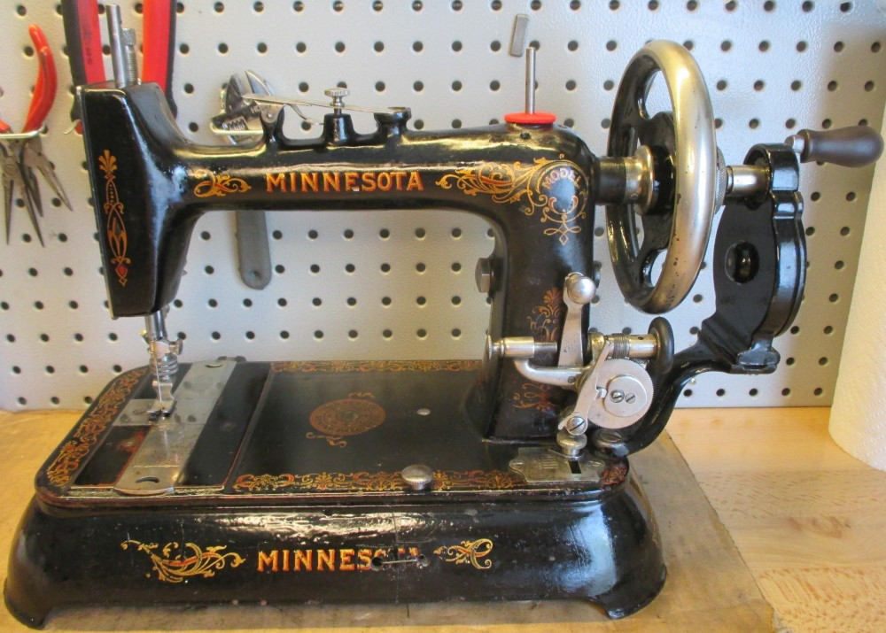 This is Grant Gray's vintage Minnesota hand-crank.