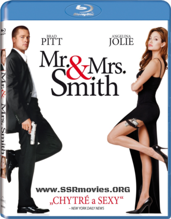 Mr. & Mrs. Smith (2005) Hindi Dubbed Movie (379.MB)