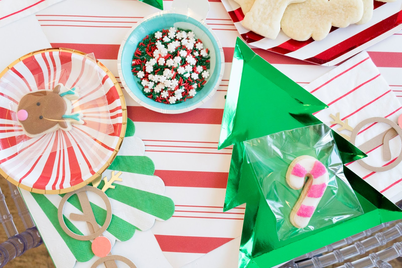 For The Love Of Character Cookies With Santa