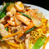 Green Curry Crispy Noodles Recipe