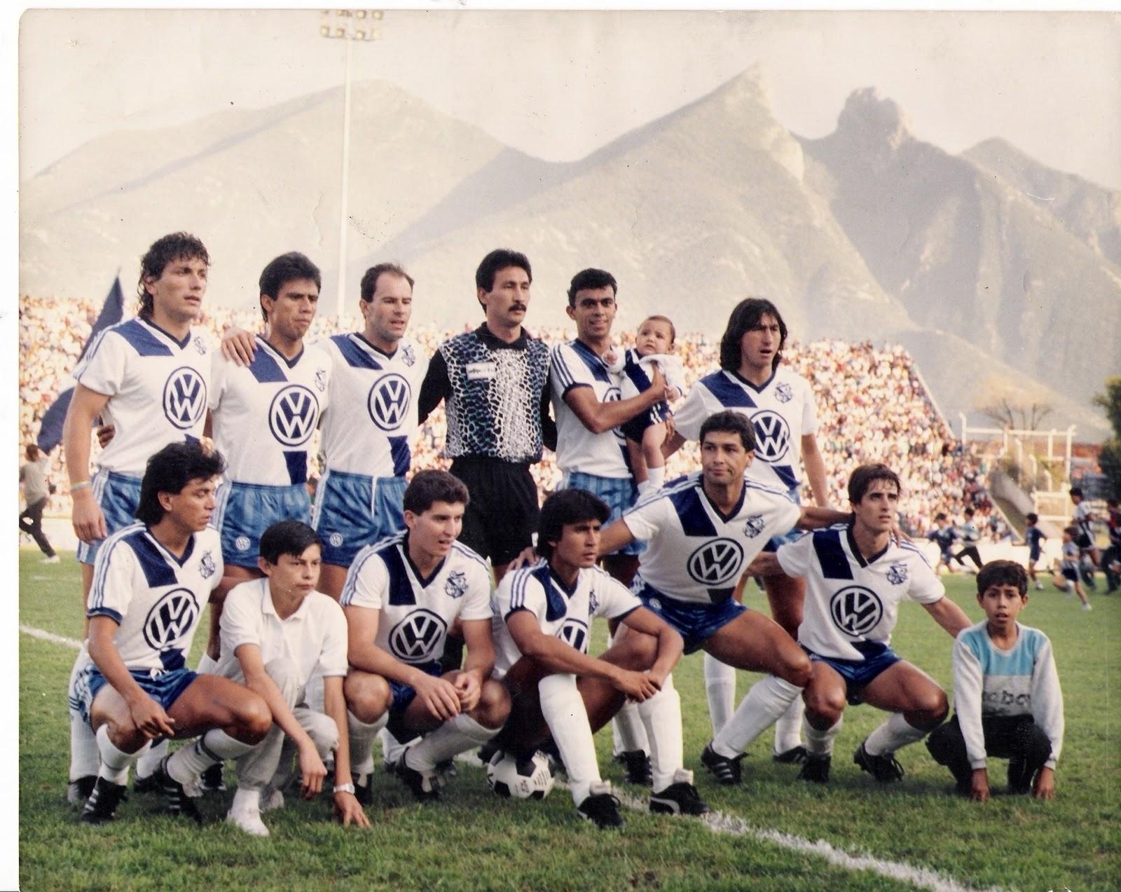 Equipo del club Puebla