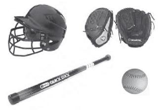 Perlengkapan Softball