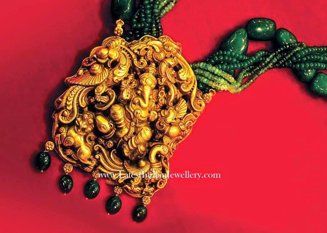Lord Ganesh Temple Pendant