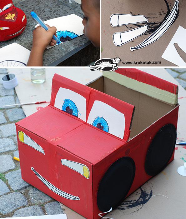 más y más manualidades: 15 ideas para hacer carros con cajas de ...