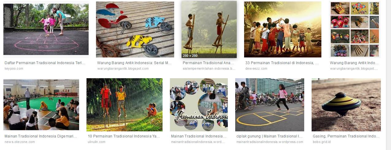 Permainan Tradisional Indonesia Artikel Radar Cilacap