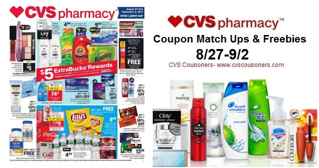 cvs couponers cvs coupon matchups freebies 8 27 9 2