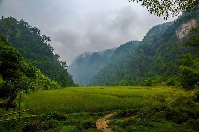The story of trekking and homestay in Ba Be National Park 1