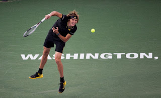 Zverev set to defend Washington ATP crown