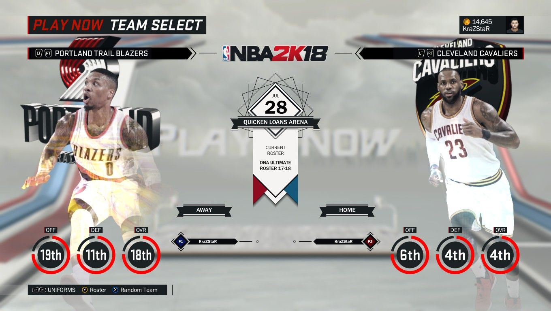 DNA Of Basketball | DNAOBB: NBA 2K18 Menu Logos + Shaq ...