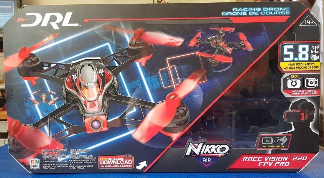 The Brick Castle: NIKKO Air Race Vision 220 FPV Pro Drone