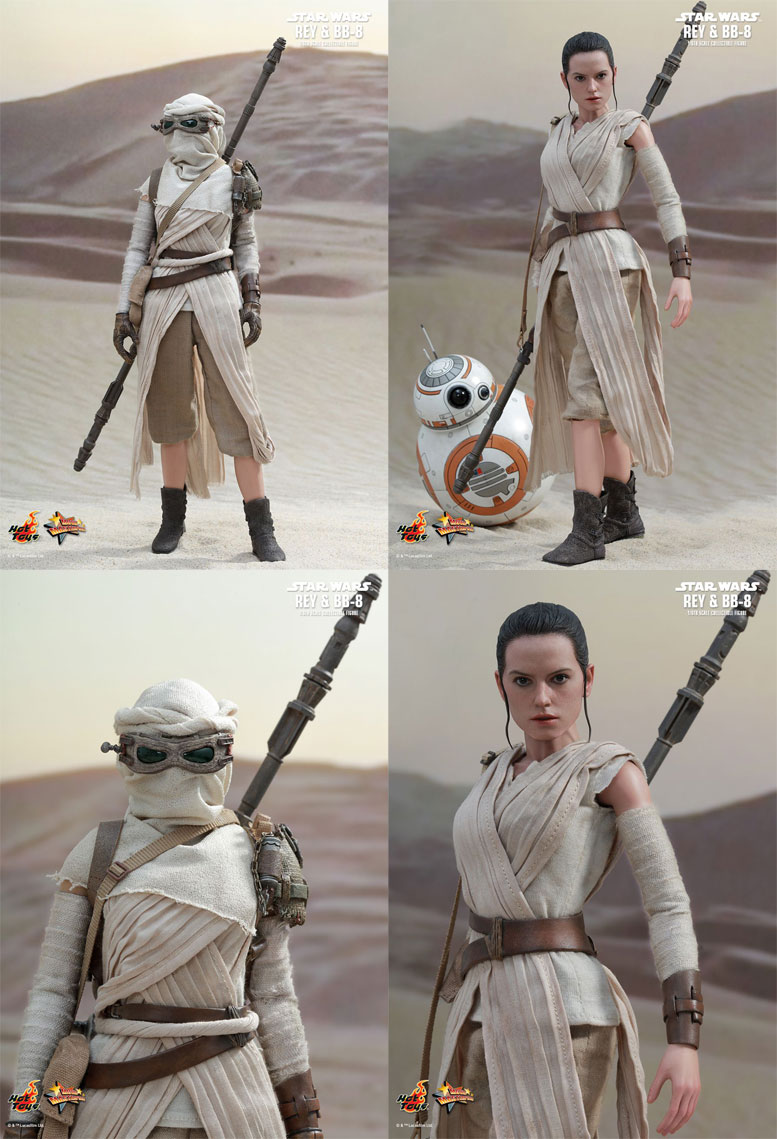 Rey Star Wars Toys : Star wars the force awakens rey bb in th scale