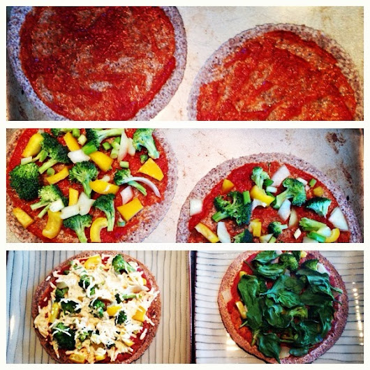 Day 24: His & Hers Plant Powered Pizzas