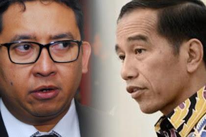 Pedas! Tanggapi Arahan Jokowi pada Relawan, Fadli Zon: Jelas Provokasi dan Tak Pantas Diucapkan