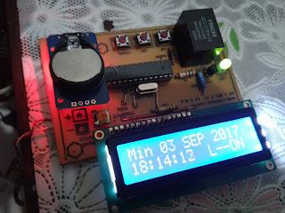 Timer Terprogram dengan RTC ds3231 dan Atmega 328 Arduino