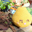 Big Happy Pear Amigurumi!!