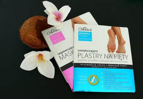 Moje najnowsze kosmetyki do pielęgnacji stóp firmy L`biotica