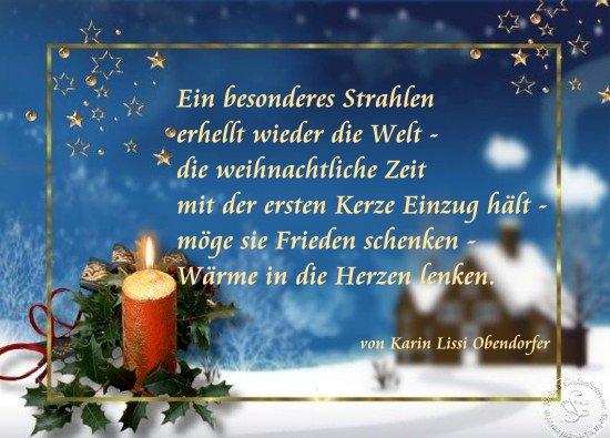 Karins Gedichte Blog: 1. Advent