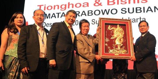 Bersama Pengusaha Tionghoa, Prabowo Mengaku Junjung Kemanusiaan