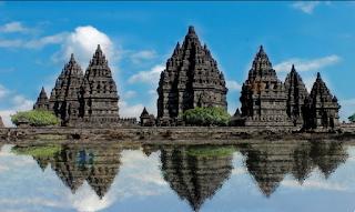Cara Naik Gojek Grab di Candi Prambanan Yogyakarta