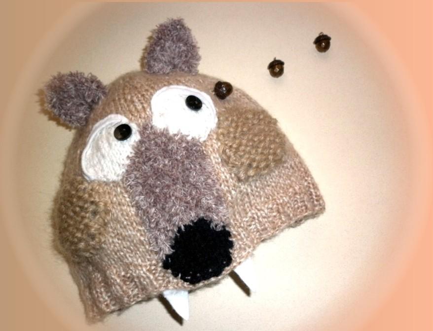 Des bonnets animaux insolites pour nos ptites t tes - Animaux en tricot facile ...