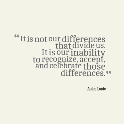 Accept Differences Quotes