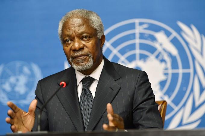 Kofi Annan Releases Statement On Kenyan Elections