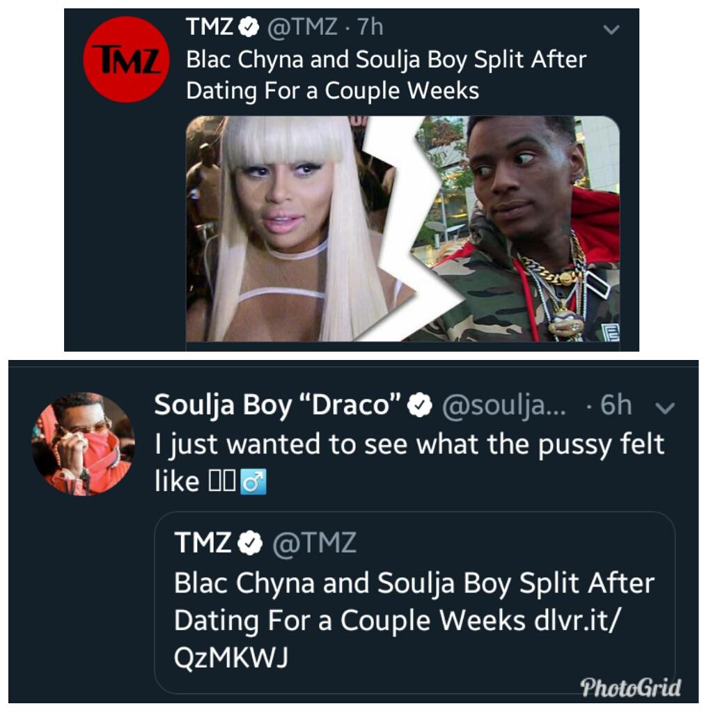BlogbyTemmytems: Soulja Boy And Blac Chyna Split After Few