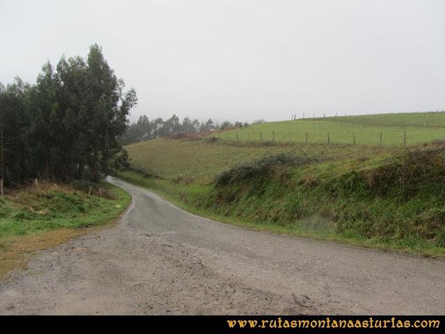Prado Marqués: Cruce con la carretera de Las Vinadas